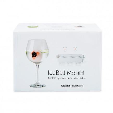 Ice Ball Mould 3D Retail Box Ø60mm (24x7x7mm), 100%Chef