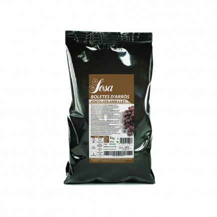 Bolitas de Arroz recubiertas de Chocolate con Leche (1kg), Sosa