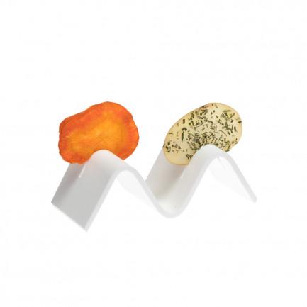 Soporte Wave Crunchy 2 (13x6x4cm), 100%Chef