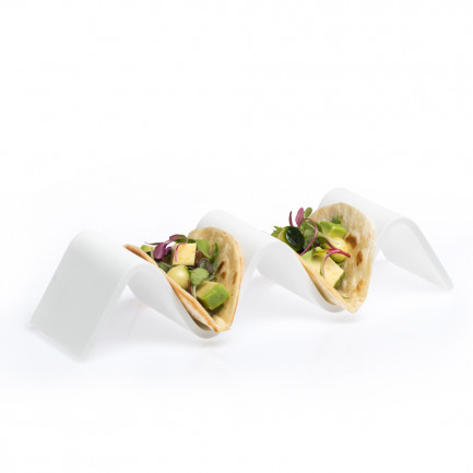 Soporte Wave Taco 2/3 (21x6x4,5cm), 100%Chef