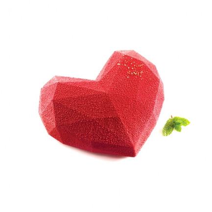 Molde de silicona Amore Origami 600 (150x135h55mm) Tortaflex, Silikomart