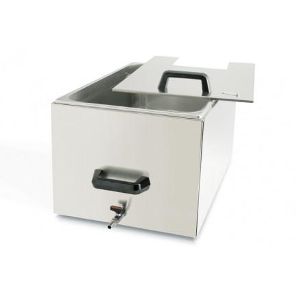 Container Térmico inox 27l para Noon (tapa incluída), 100%Chef