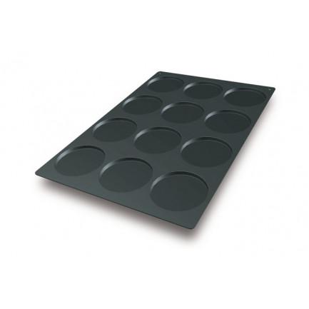 Molde de silicona SQ013 Disco Ø120xh10mm (12 porciones) SessantaQuaranta, Silikomart