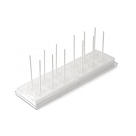 Set MUL3D Ø28 (2 moldes A+B + bandeja + 50 sticks) Multiflex 3D, Silikomart