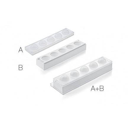 Set MUL3D EGG Ø50 (moldes A+B) Multiflex 3D, Silikomart