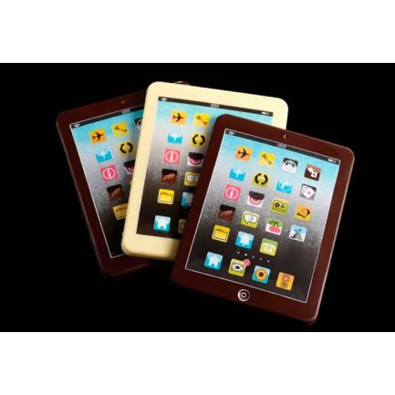 Molde serigrafiado T115 Choco Tablet (160x120xh17mm) Choco High Tech - 40 figuras, Pavoni