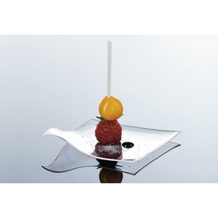 Pincho degustación Hola blanco (83mm), 100%Chef - 1000 unidades