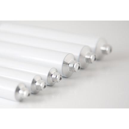 Tubo de aluminio blanco (15ml), 100%Chef - 100 unidades