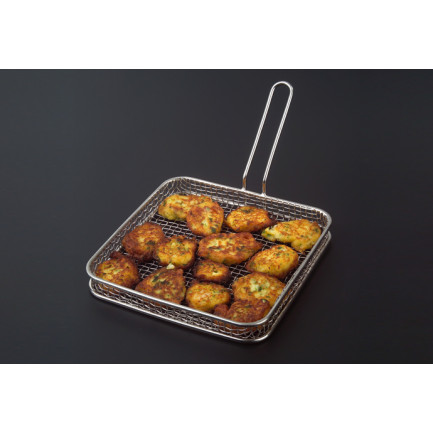 Freidora Mini (17x17x2cm), 100%Chef