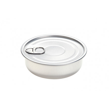 Lata Bowl de aluminio con tapa 150ml (Ø105xh35mm), 100%Chef - 100 unidades