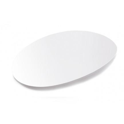 Bandeja oval degustación Sphera blanco (34x20,9x1,9cm), 100%Chef - 12 unidades