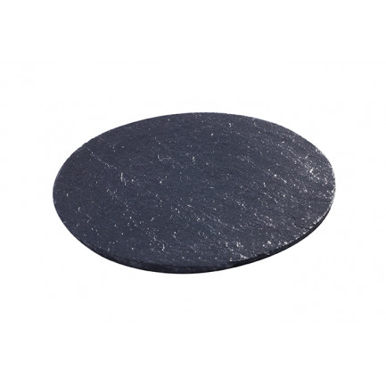 Pizarra mini redonda (Ø70x5mm), 100%Chef - 5 unidades