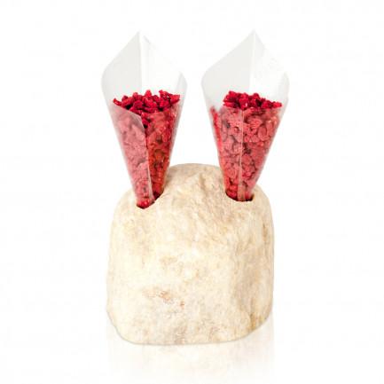 Roca Porta Conos - 2 agujeros (19x12x5cm), 100%Chef