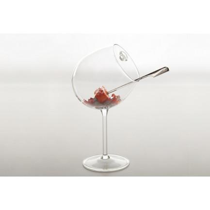 Copa Borgoña con asa 350ml (Ø10xh23cm), 100%Chef