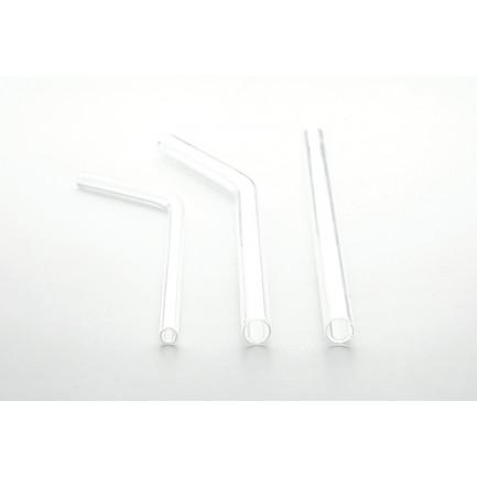 Pajita cristal para Mini Cola (Ø55xh170mm), 100%Chef - 36 unidades