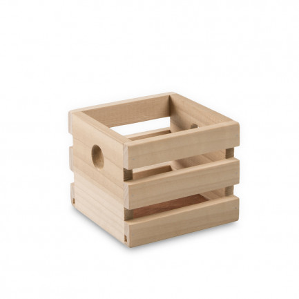 Caja Lesvos M natural (8,5x8,5x7cm), 100%Chef