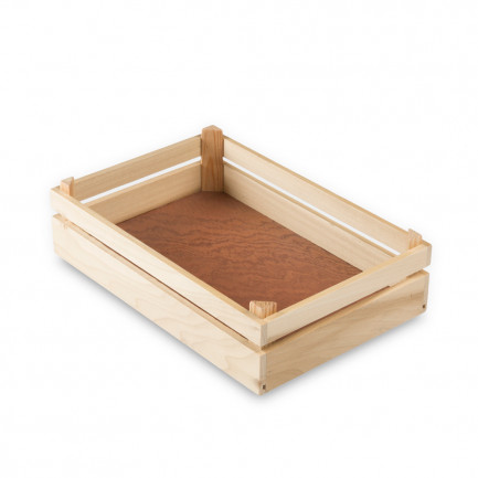 Caja Mikonos M natural (20x30x8cm), 100%Chef