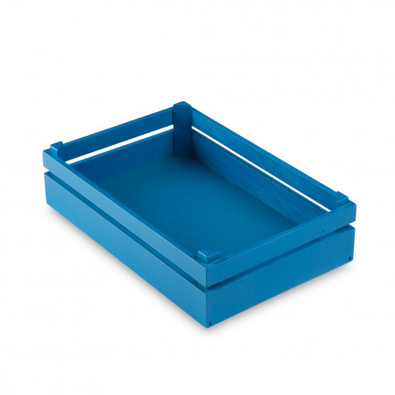 Caja Mikonos M azul Egeo (20x30x8cm), 100%Chef