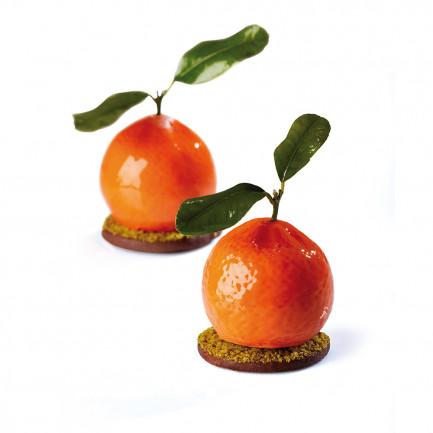 Molde de Silicona PX4332 Tangerine Ø57h50mm (20 porciones) TuttiFrutti, Pavoni
