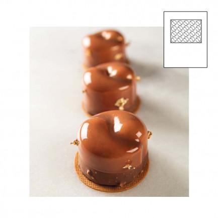 YOGA  molde silicona Pavoflex 400x300 mm, Pavoni