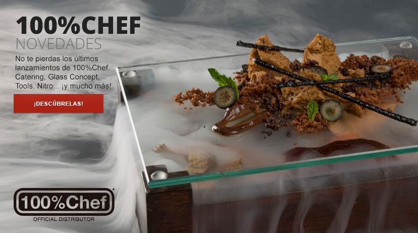 ¡Novedades 100%Chef 2018!