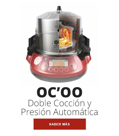 OC'OO - La máquina de doble cocción y presión automática